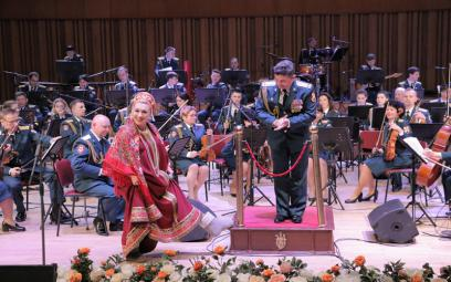 Dàn nhạc Lực lượng vệ binh Quốc gia Nga: Chùm ảnh 3
