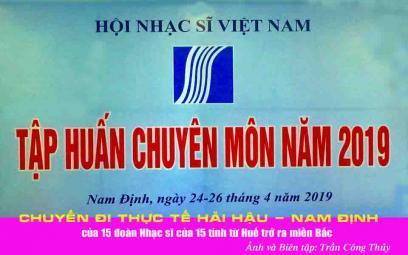 Chùm ảnh chuyến đi thực tế Nam Định
