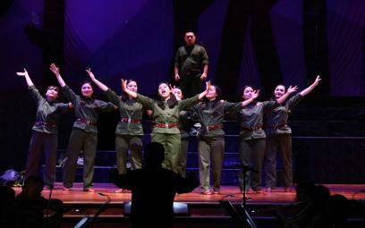 Opera Lá đỏ tại Quảng Bình: chùm ảnh 1