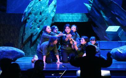 Opera Lá đỏ tại Quảng Bình: chùm ảnh 2