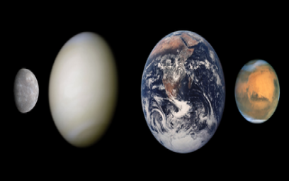 Những hành tinh – bộ tranh tiến trình cuộc đời