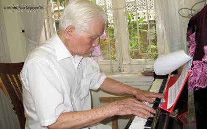 Nhạc sĩ La Thăng với đứa con tinh thần có tuổi đời trên nửa thế kỷ