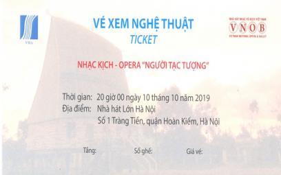 Hội Nhạc sĩ Việt Nam: Thông báo mua vé opera Người tạc tượng