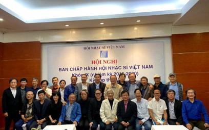 Hội nghị Ban Chấp hành Hội Nhạc sĩ Việt Nam khóa IX, kỳ họp thứ 10