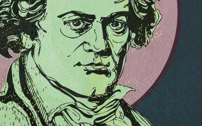 Tôi học được từ Beethoven rằng tôi may mắn
