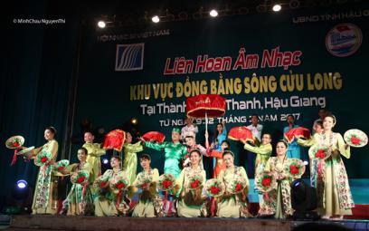 Liên hoan Âm nhạc khu vực Đồng bằng sông Cửu Long năm 2019