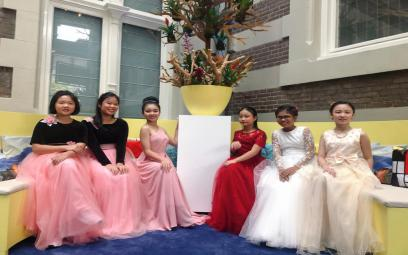 Học sinh trường nhạc B.A.C.H trong Winner Concert tại Amsterdam