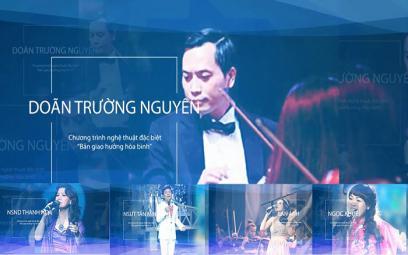"""Chương trình nghệ thuật đặc biệt """"Bản giao hưởng hòa bình"""": Khúc tráng ca về Hà Nội"""