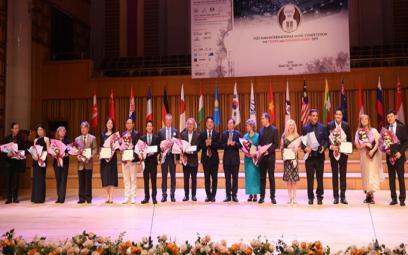 Giải thưởng Hội Nhạc sĩ Việt Nam trong Cuộc thi quốc tế cho Violon và Hòa tấu thính phòng 2019