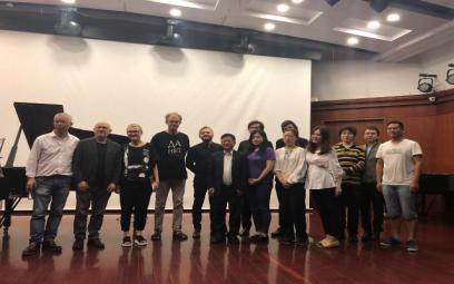Hợp tác âm nhạc với Học viện Âm nhạc quốc tế Thượng Hải