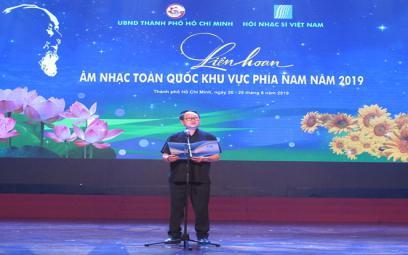 Tổng kết Liên hoan Âm nhạc Toàn quốc khu vực phía Nam 2019