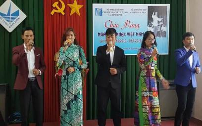 Giới Văn học nghệ thuật Bình Định tổ chức kỷ niệm lần thứ 10 Ngày Âm nhạc Việt Nam (03/9/2010 – 03/9/2019)