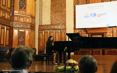 Liên hoan Âm nhạc mới Á - Âu: Chùm ảnh 2