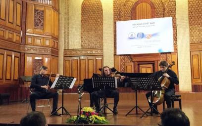"""Festival Âm nhạc Mới """"Á - Âu"""" 2016: chương trình nhạc thính phòng ngày 14-10-2016"""