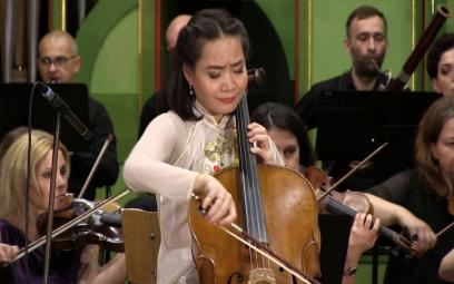 Embedded thumbnail for Đinh Hoài Xuân cello: Concerto in A minor - Camille Saint-seans