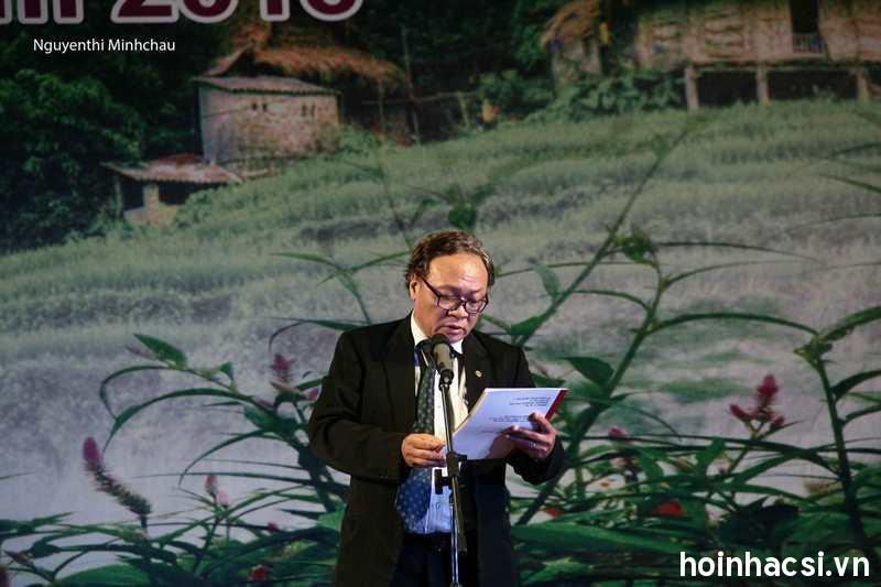 NSND Phạm Ngọc Khôi công bố quyết định thành lập Ban chỉ đạo, Ban tổ chức và Hội đồng thẩm định Liên hoan