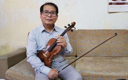 Nghệ sĩ nhân dân Nguyễn Châu Sơn: Truyền tình yêu với cây đàn violon