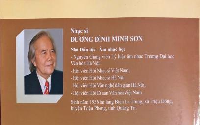Lời giới thiệu sách Hình thức âm nhạc của Dương Đình Minh Sơn