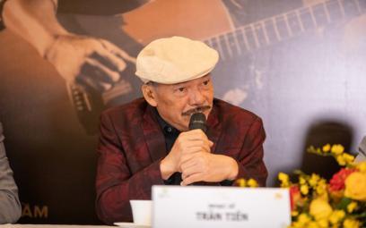 Nhạc sĩ Trần Tiến với đêm nhạc Chuyện tình