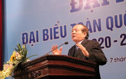 Phát biểu của nhà thơ Hữu Thỉnh tại Đại hội X Hội Nhạc sĩ Việt Nam