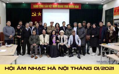 Hội Âm nhạc Hà Nội: giới thiệu tác phẩm mới tháng 1/2021