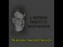 Embedded thumbnail for Leonard Bernstein: Lời tri ân đến Shostakovitch