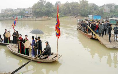 Kết bạn quan họ - nét duyên Kinh Bắc