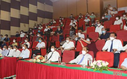 Trao giải cuộc thi sáng tác ca khúc nhân kỷ niệm 190 năm thành lập và 30 năm tái lập tỉnh Hà Tĩnh