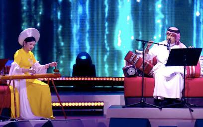 Lần đầu hòa tấu đàn bầu Việt Nam trên sân khấu âm nhạc truyền thống Trung Đông
