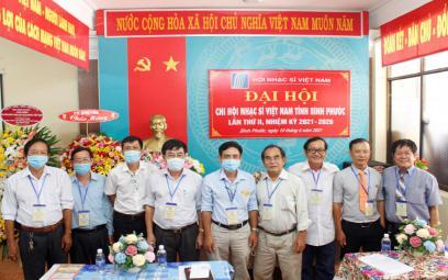 Đại hội Chi hội Nhạc sĩ Việt Nam tỉnh Bình Phước Lần thứ II