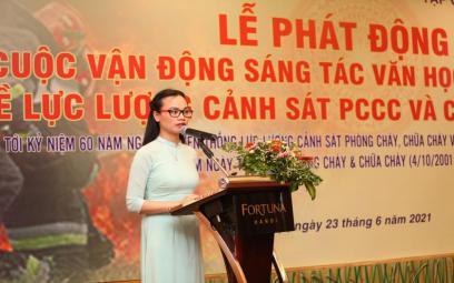 Hà Nội: Phát động sáng tác về lực lượng Cảnh sát PCCC&CNCH