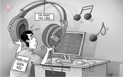 Muôn hình vạn trạng vi phạm tác quyềnâm nhạc