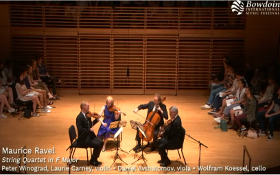 Ravel: Tứ tấu đàn dây giọng Pha trưởng