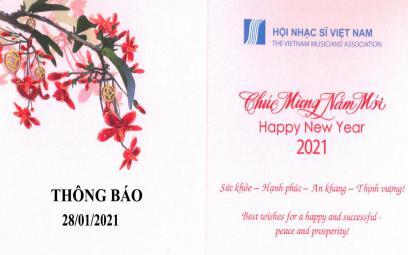 Thông báo dừng họp mặt Tất niên Hội Nhạc sĩ Việt Nam