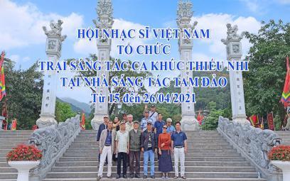 Embedded thumbnail for Hội NSVN: trại sáng tác ca khúc thiếu nhi tháng 4/2021